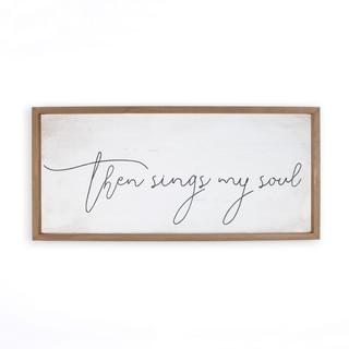 Then Sings My Soul Framed Art