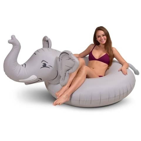 GoFloats 'Trunks The Elephant' Party Tube Inflatable Raft