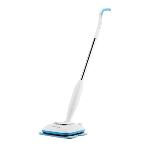 AutoVis KAC-7000 Cordless Automatic Sweeper & Mopping Machine - White