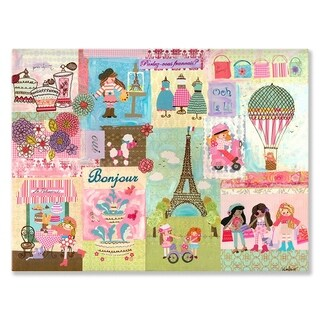Oopsy Daisy 'A Piece of Paris' by Winborg Sisters Canvas Wall Art - 18 x 14