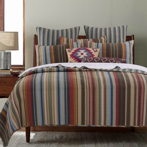 Greenland Home Fashions Durango Bonus Quilt Set with Pillows