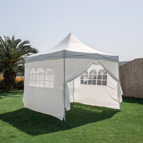Shop Kinbor 10' x 10' Patio Canopy Tent Pop Up Canopy ...