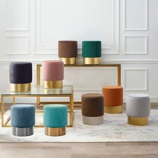 Excellent Buy Round Ottomans Storage Ottomans Online At Overstock Alphanode Cool Chair Designs And Ideas Alphanodeonline