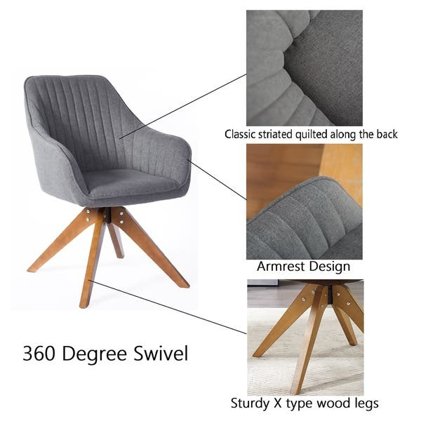 Sensational Shop Art Leon Classical Swivel Office Accent Arm Chair With Ibusinesslaw Wood Chair Design Ideas Ibusinesslaworg