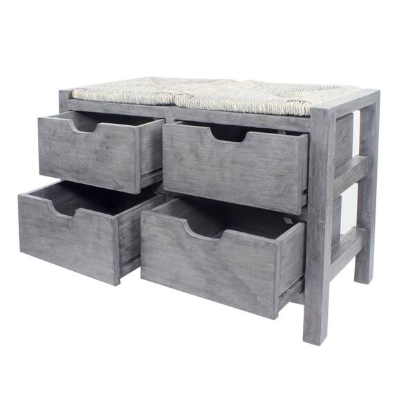 Tremendous Shop Lake 4 Drawer Storage Bench On Sale Free Shipping Cjindustries Chair Design For Home Cjindustriesco
