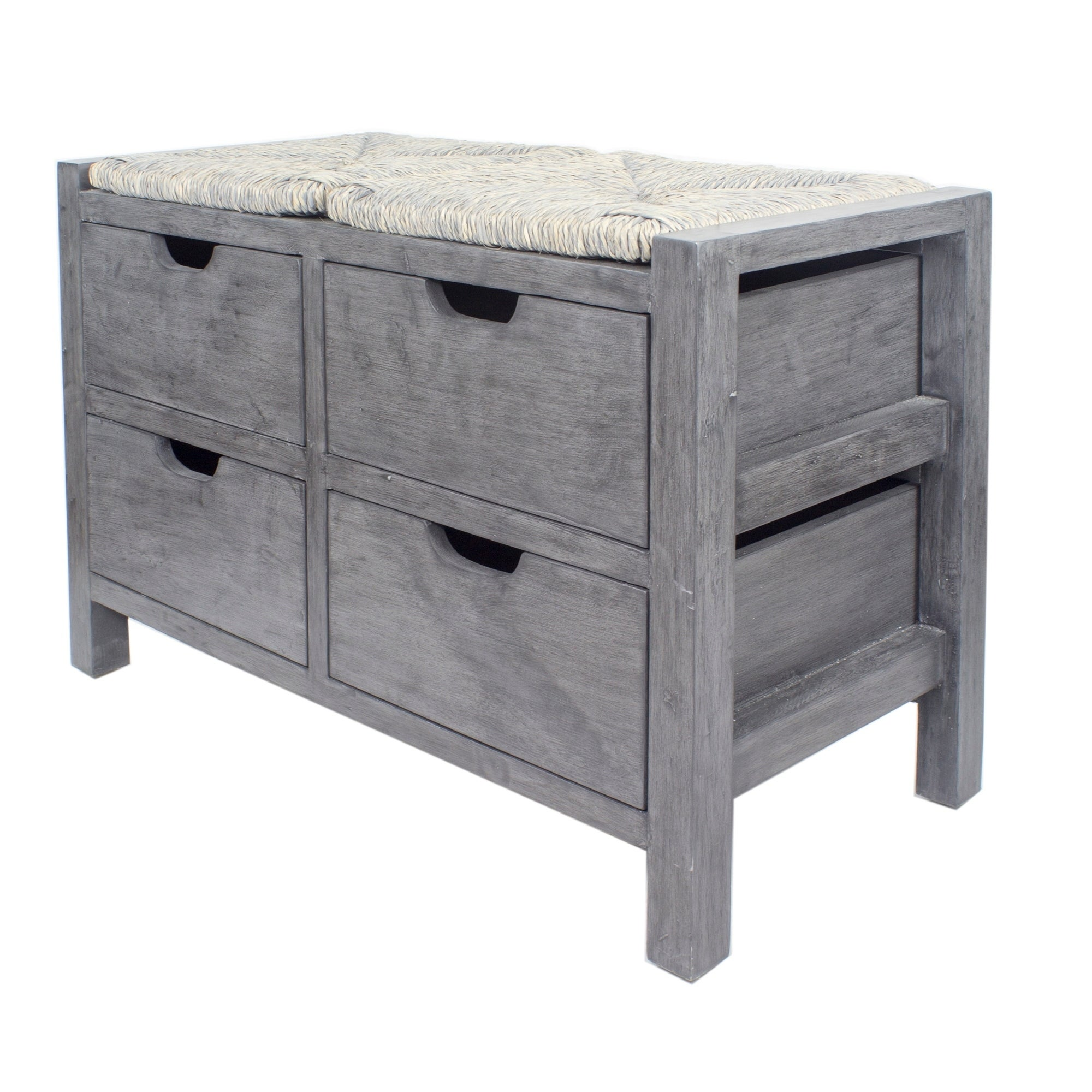 Lake 4 Drawer Storage Bench On Sale Overstock 28000880