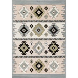 Link to L'Baiet Willow Grey Southwestern Rug Similar Items in Rugs
