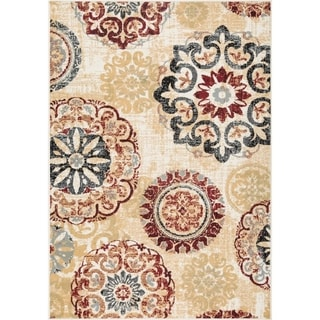 Link to L'Baiet Brielle Red Mid-Century Rug Similar Items in Rugs