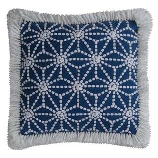 "Catena Throw Pillow Cover Blue (20""X20"")"