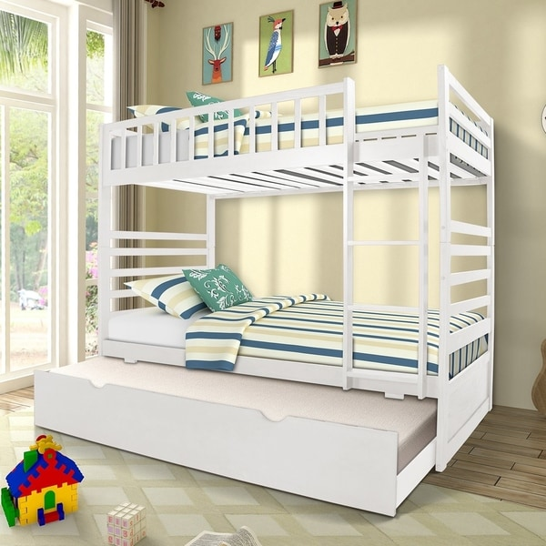 Taylor & Olive Vervain Twin-over-Twin Bunk Bed with Trundle