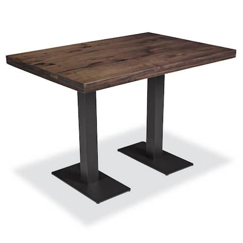 "EdgeMod Sloane 44"" Dining Table in Walnut"