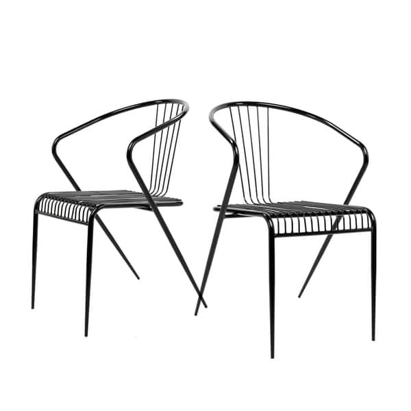 Incredible Shop Art Leon Wire Dining Chair Classic Harp Design Set Of 2 Creativecarmelina Interior Chair Design Creativecarmelinacom