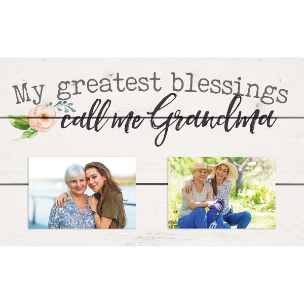 My Greatest Blessings Call Me Grandma Photo Frame