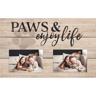 Paws And Enjoy Life Photo Frame