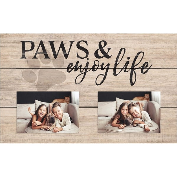 Paws And Enjoy Life Photo Frame