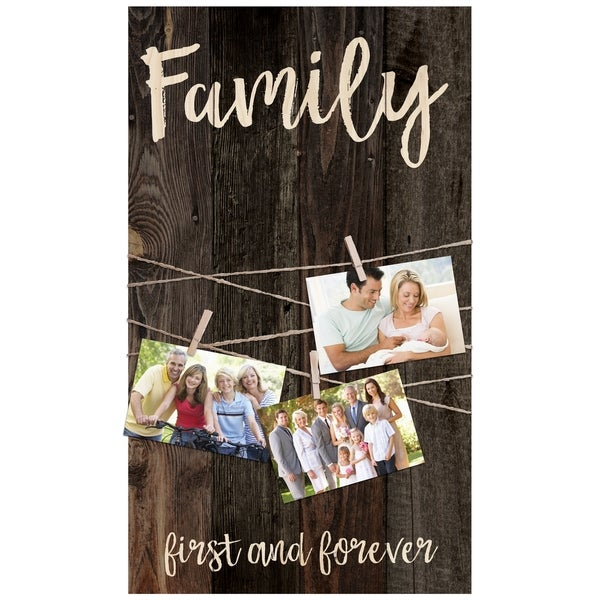 Family First & Forever Photo Frame