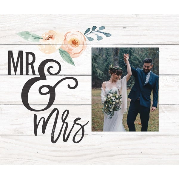 Mr. And Mrs. Photo Frame