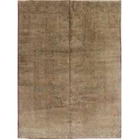 Copper Grove Skjern Handmade Vintage Muted Wool Persian Oriental Area Rug - 12'5 x 9'3