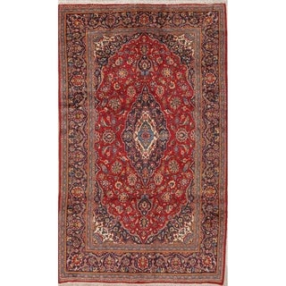 "Gracewood Hollow Zahreb Handmade Persian Medallion Area Rug - 10'9"" x 6'6"""