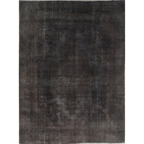 Copper Grove Horning Handmade Vintage Wool Persian Oriental Distressed Area Rug - 12'6 x 9'2