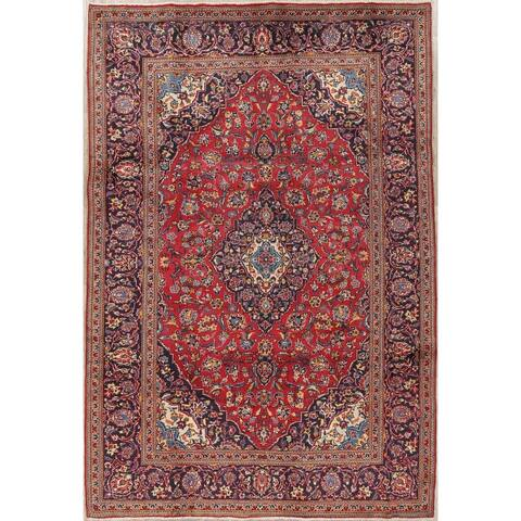 "Gracewood Hollow Zerov Handmade Persian Medallion Area Rug - 9'9"" x 6'8"""