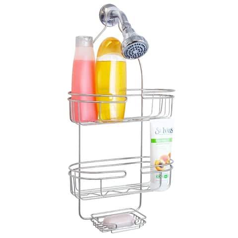 Element Shower Caddy, Satin Nickel