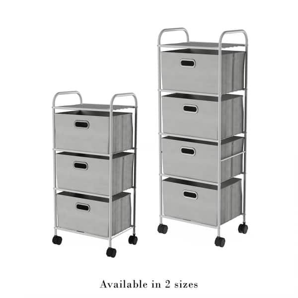 Rolling Storage Cart On Wheels