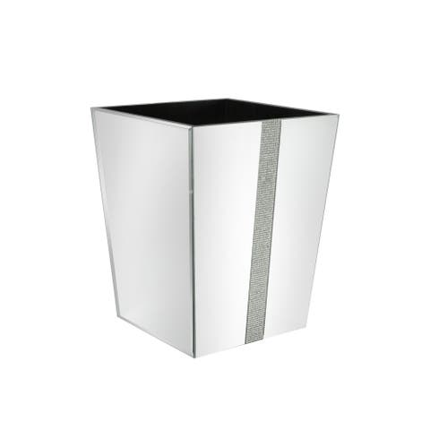 sparkles/mirror waste basket