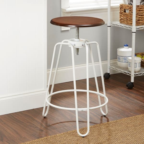 Surprising Shop Adjustable Height Hairpin Leg Stool Free Shipping On Gmtry Best Dining Table And Chair Ideas Images Gmtryco