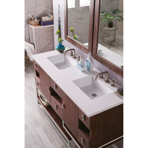 Sonoran 60-inch Double Vanity with Basin