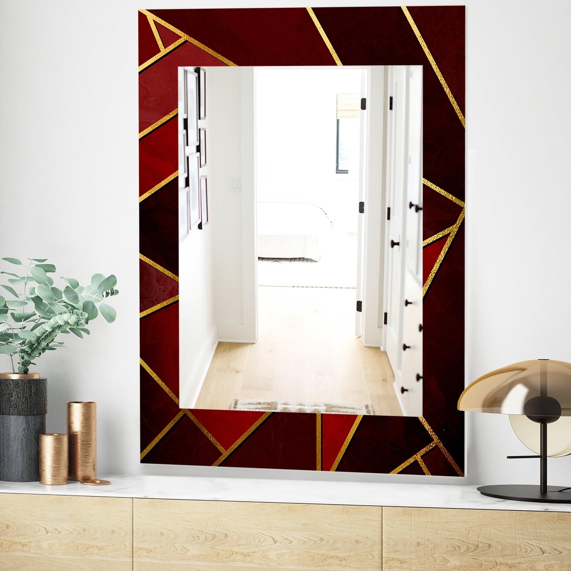 Designart Capital Gold Honeycomb 12