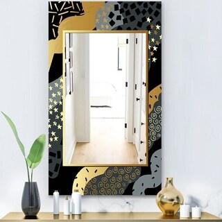Porch & Den 'Playful Gold 1' Glam Mirror