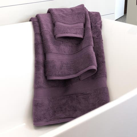 Kotter Home 3-Piece Egyptian Cotton Bath Towel Set