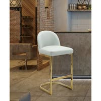 Chic Home Airlie PU Leather Upholstered Bar Stool/Counter Stool Chair