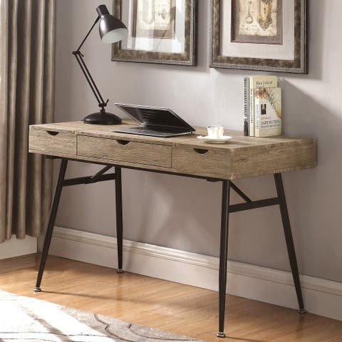 Carbon Loft Doggett Computer Writing Office Desk with Drawer and Storage