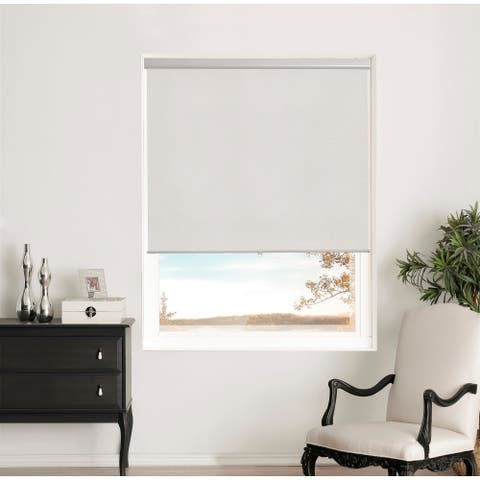 Brielle Home Shimmer Blackout Cordless Roller Shade