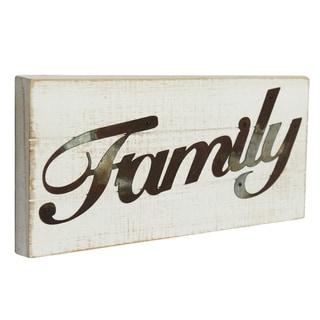 Wood FAMILY Sign Wall Decor
