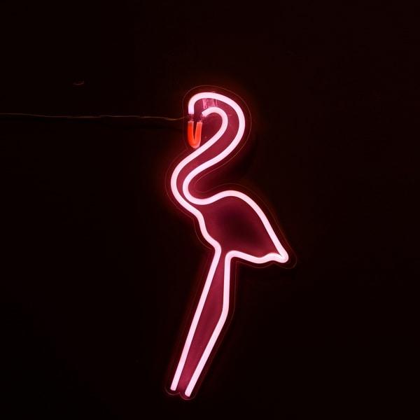 LED Light Flamingo