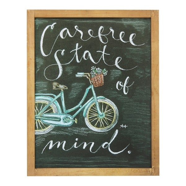Carefree State of Mind Chalkboard Wall Art