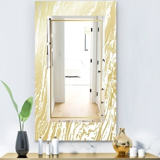 Designart 'Capital Gold Essential 9' Glam Mirror - Vanity Mirror