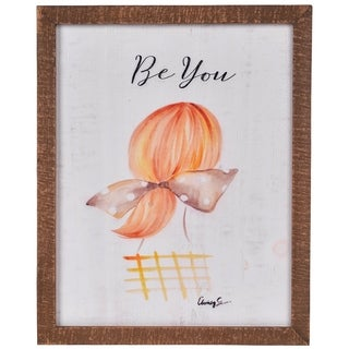 Be You & Girl Portrait Wall Art