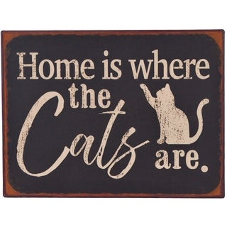 Home Is Where The Cats Are Wall Decor