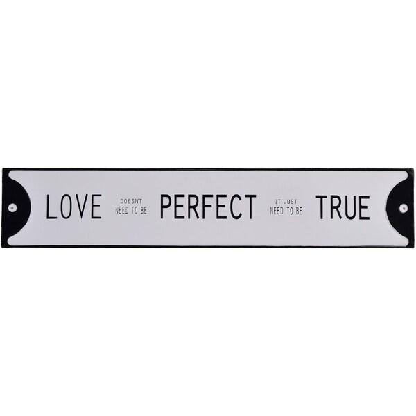 Love Perfect True Sign