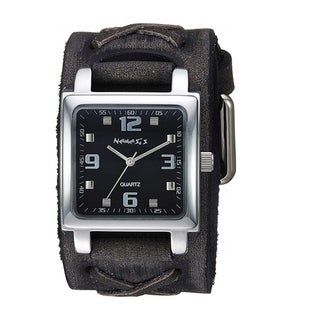 Link to Nemesis  Lite SQ Watch with Black Faded X Leather Cuff Band KFXB516K Similar Items in Men's Watches