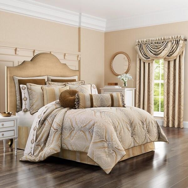 Five Queens Court Giodana 4 Piece Comforter Set