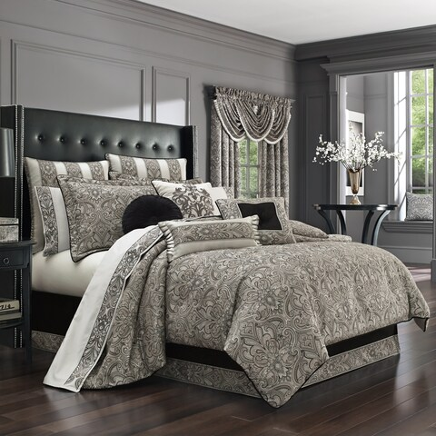 Five Queens Court Carleigh 4-piece Comforter Set