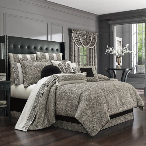 Five Queens Court Carleigh 4 Piece Comforter Set