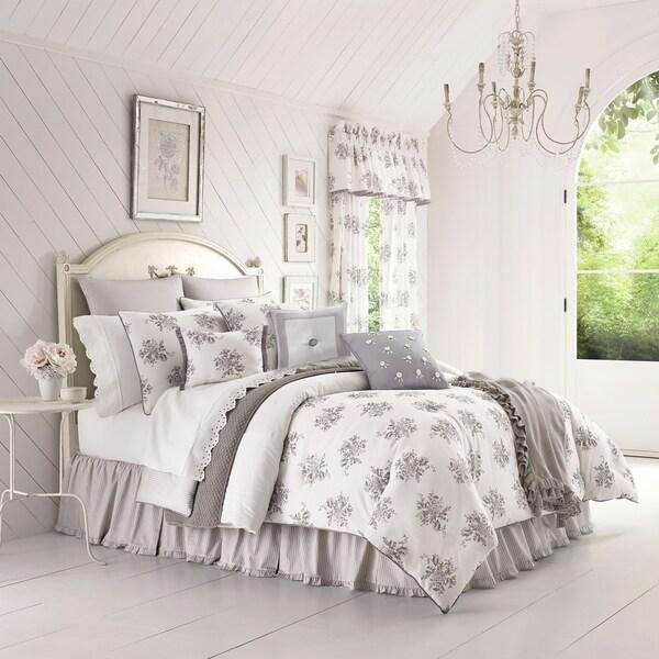 Five Queens Court Shannon 4 Piece Comforter Set