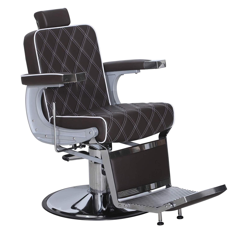 Amazing Barberpub Vintage Barber Chair Hydraulic Recline Salon Beauty Spa Styling Equipment 3825 Lamtechconsult Wood Chair Design Ideas Lamtechconsultcom