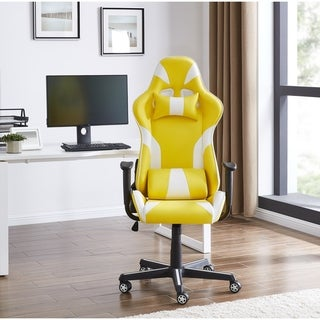 IDS Online Executive Leather Racing Gaming Office Chair